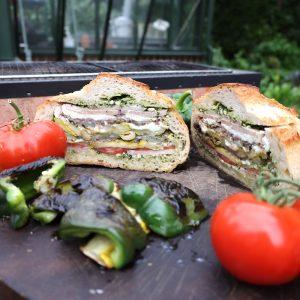 Roasted Vegetable Muffalata