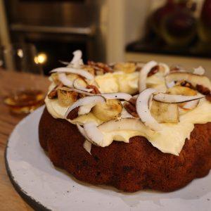 Rum and Banana Cake