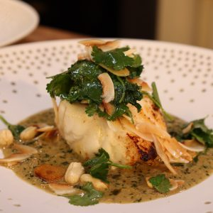Monkfish with Thai Sauce