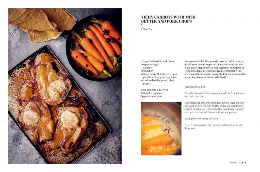 Butter Spread Vichy Carrots