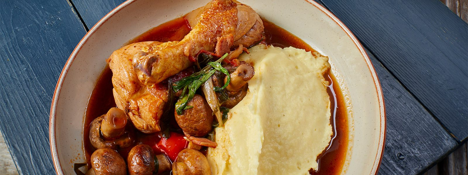 Chicken Chasseur And Mash
