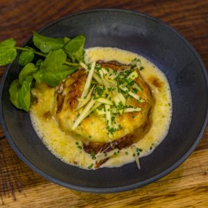 Double Baked Haddock and Cheese Soufflé