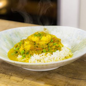 MONKFISH AND COCONUT CURRY