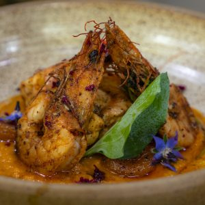 Monkfish and Prawn Curry from Royal Patiala