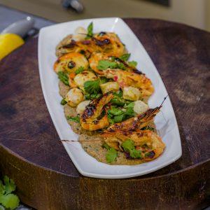 Shellfish with Korma Sauce