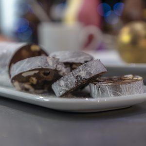 Chocolate Salami and Golden Chocolate Giggle Bells