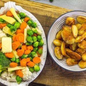 Christmas Vegetables