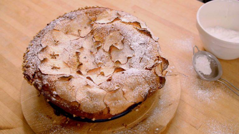 Caramelised Apple and Calvados Brioche | James Martin Chef