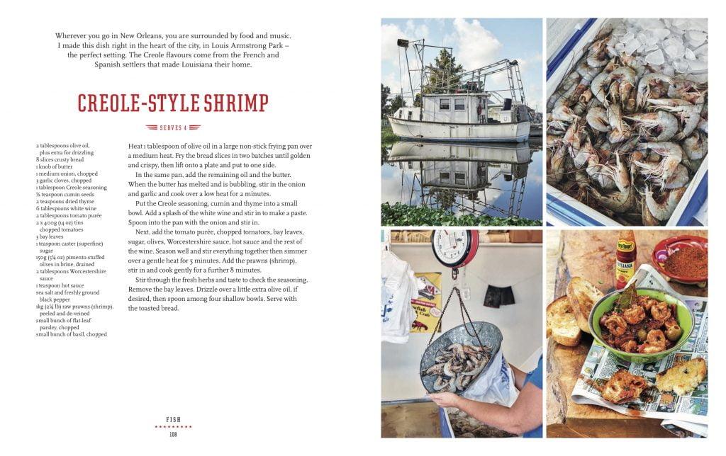 Creole Style Shrimp