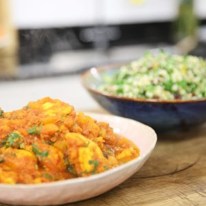 CHICKEN TAGINE WITH TABBOULEH
