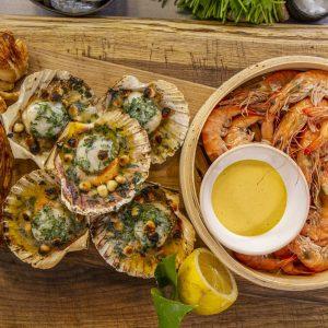 Seafood Tapas