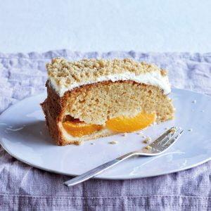 Peach And Creme Fraiche Crumble