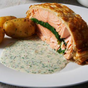 Salmon Coulibiac 3