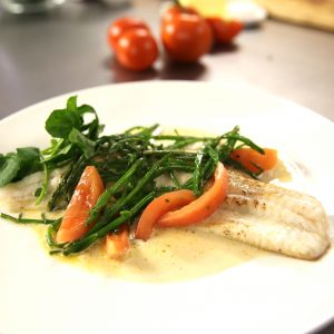 PLAICE WITH CHAMPAGNE SAUCE