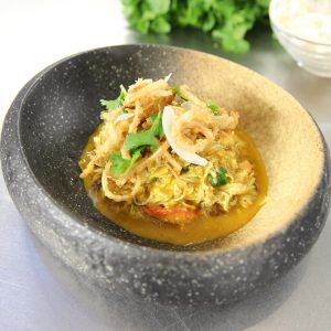 KORMA SPIDER CRAB CURRY