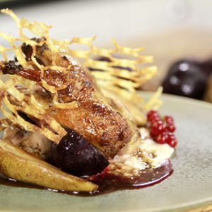 PARTRIDGE WITH BREAD SAUCE