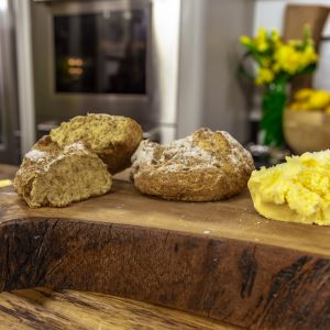 SODA BREAD AND BUTTER