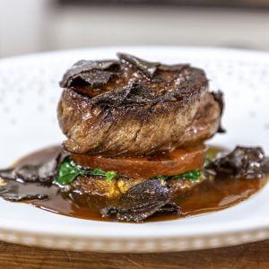 TOURNEDOS ROSSINI WITH WATERMELON