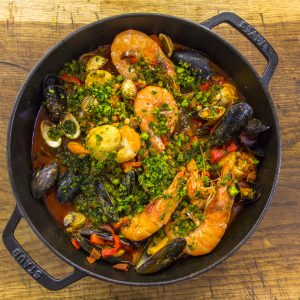 SPANISH SEAFOOD AND CHORIZO STEW