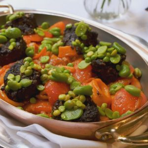 SQUID STEW WITH BLACK PUDDING