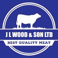Jl wood & son butcher logo